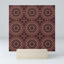 Kaleidoscope 3 #mandala #ornament Mini Art Print