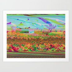 Lost In Flight Art Print