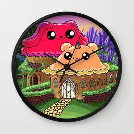 Symetria Wonder Store Wall Clock
