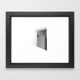 There. Macba, Barcelona Framed Art Print