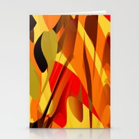 spice Stationery Cards featuring pumpkin spice by David Mark Lane