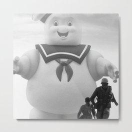 marshmallow doll Metal Print