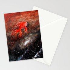 goldfish cosmos Stationery Cards