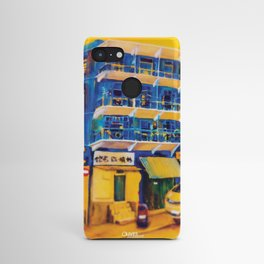 blue house (hong kong) Android Case