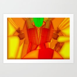 Softly parts strong bounded ... Art Print