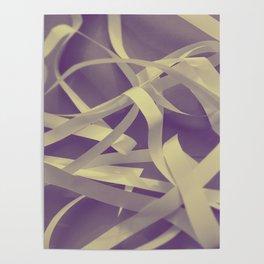 Purple paper Poster