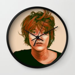 Take a look in the mirror Wall Clock