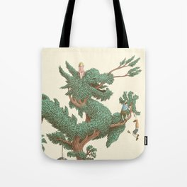 The Night Gardener - The Dragon Tree Tote Bag
