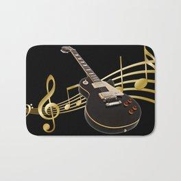 Guitar Music Bath Mat