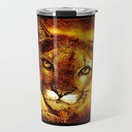 Big Cat Models: Cougars 01-01 Travel Mug