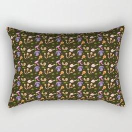 Mushroom Dark Forest Rectangular Pillow
