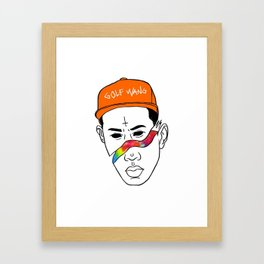 GOLF WANG Framed Art Print