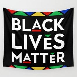 Black Lives Matter portrait Wall Tapestry