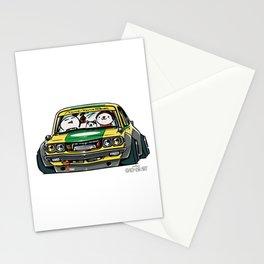 Crazy Car Art 0150 Stationery Cards