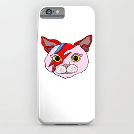 Heroes Cat Head iPhone Case