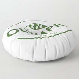 Olympic National Park Floor Pillow
