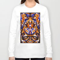 glass Long Sleeve T-shirts featuring Glass by András Récze