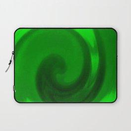 Green tie dye Laptop Sleeve