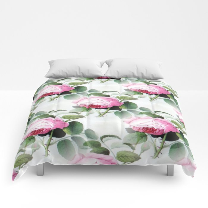 Old English Roses Comforters