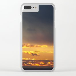 Sunset in NYC Clear iPhone Case