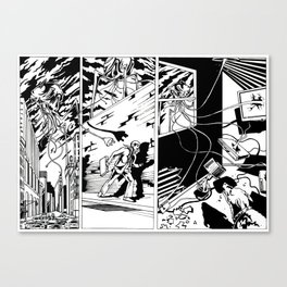 Power out Canvas Print