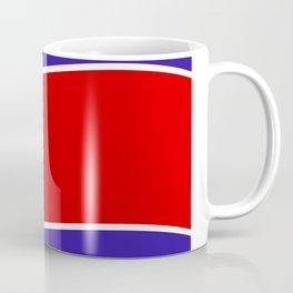 north korea flag Coffee Mug