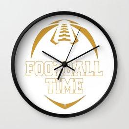 Football Time Wall Clock