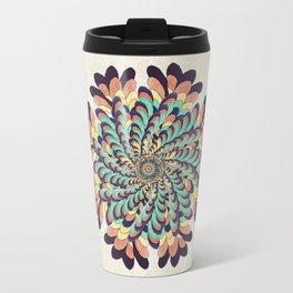 Maple Samaras Flower Mandala Travel Mug