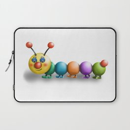 Happy Caterpillar Laptop Sleeve