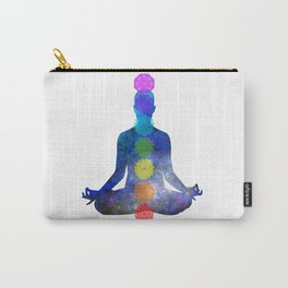 Chakras - Positive mind, Positive vibes, Positive Life Carry-All Pouch