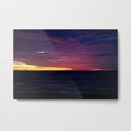 Sinaloa Sunset II Metal Print