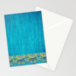 BOHO WEIM BLUES Stationery Cards