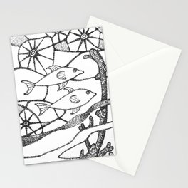 fish1 Stationery Cards