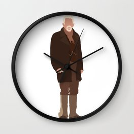 The War Doctor: John Hurt Wall Clock