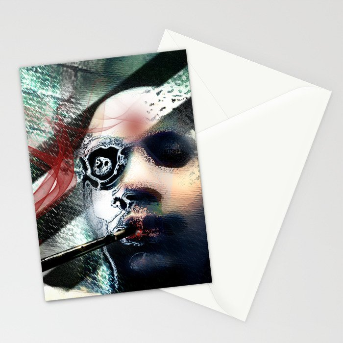 Abstraction, Distraction Stationery Cards
