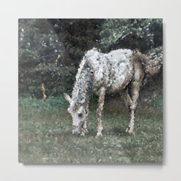 Poly Animals - Horse Metal Print