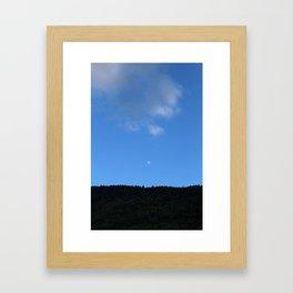 The little Moon Framed Art Print