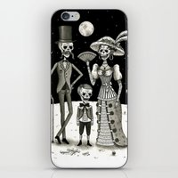 family iPhone & iPod Skins featuring Family Portrait of the Passed by Jon MacNair