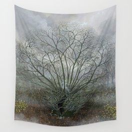 Bella in the Wych Elm Wall Tapestry