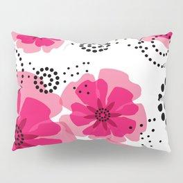 PEPPER POPPIES | fuschia Pillow Sham