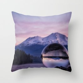My Perspective on a Sunrise Throw Pillow