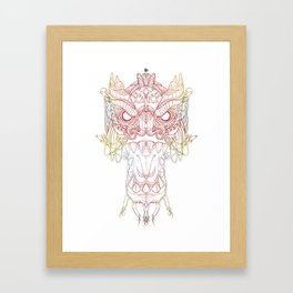 DragonHead (Color Version) Framed Art Print