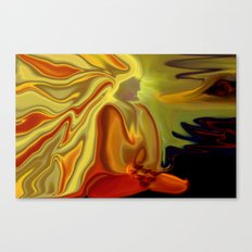GURU IN MEDITATION Canvas Print