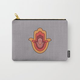 Protection Hand - Hamsa Hand Carry-All Pouch