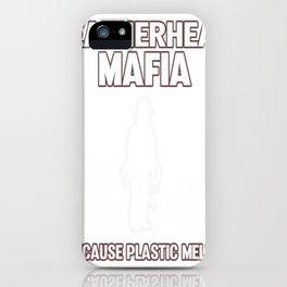 Leatherhead Mafia iPhone Case