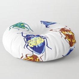 The Beetles Floor Pillow