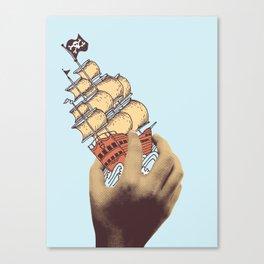 Arr! Arr! Canvas Print