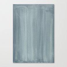 Painted Watercolour Paper - Aqua Canvas Print