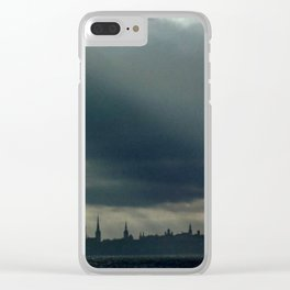 emblem of capital Clear iPhone Case