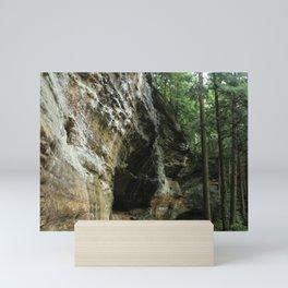 Hocking Hills Whispering Cave Mini Art Print